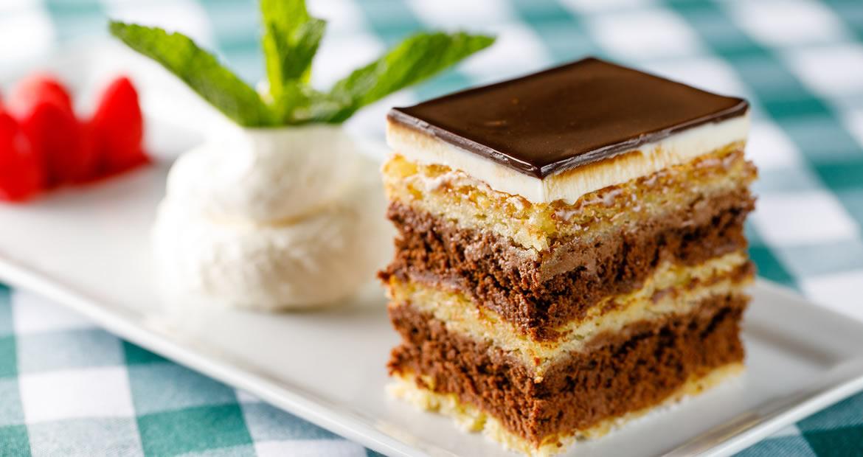 Individual Dessert Chocolate Almond Torte