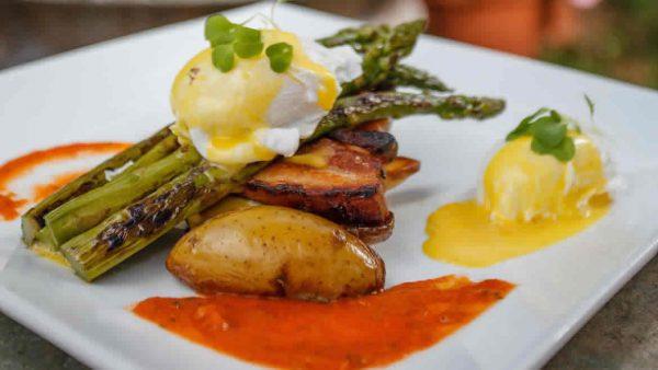 Pork Belly & Asparagus