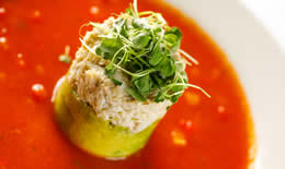 Lump Crab & Avocado Appetizer