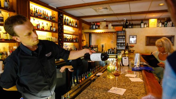 Inside bar at Ridgway Bar & Grill